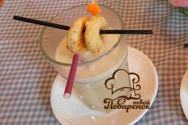 Коктейль из мороженого в блендере