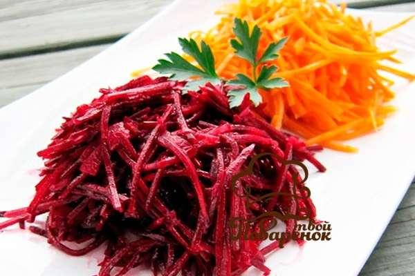 Блюда из красного буряка рецепты