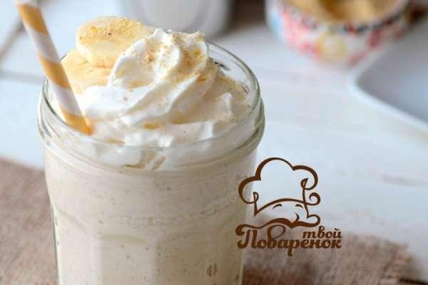 Как сделать дома коктейль из мороженого и молока