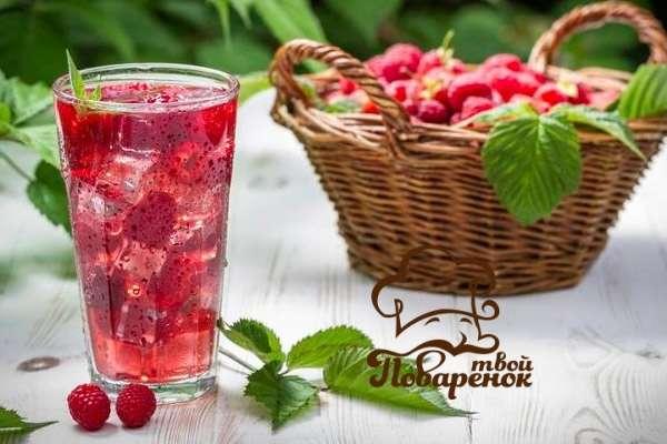Как сделать морс из замороженных ягод фото