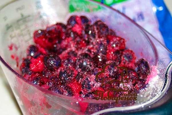 Как варить морс из замороженных ягод