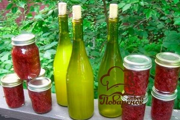 Сделать вино из забродившего варенья в домашних условиях