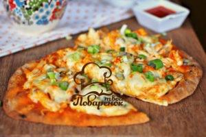 Пицца из лаваша