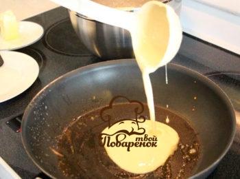Блины на 1 литр молока - пошаговый рецепт с фото 79