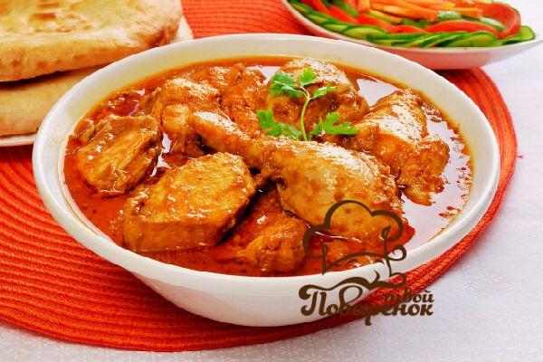 Куриная грудка в соевом соусе на сковороде