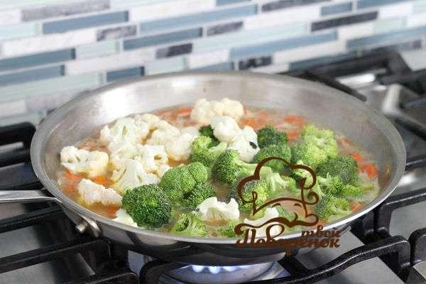 цветная капуста на сковороде рецепты с фото