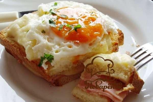Классический завтрак по-французски