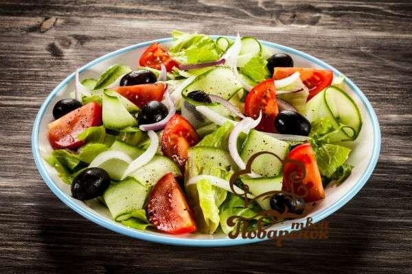 Греческий салат - история происхождения состава блюда