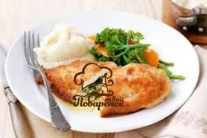 Как правильно жарить котлеты по-киевски на сковороде