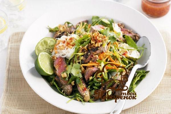 Как приготовить салат из огурцов по-китайски