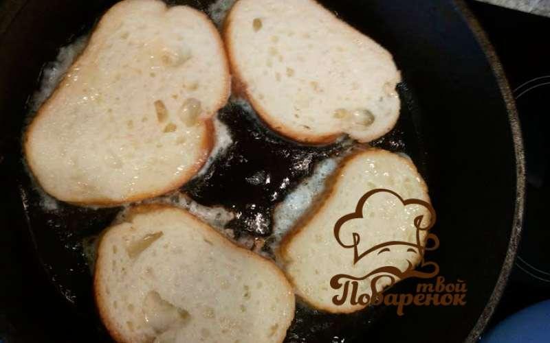 Хлеб с яйцом на сковороде рецепт пошагово в домашних условиях