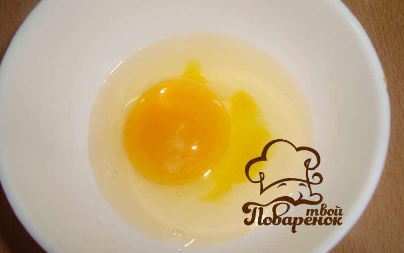 Как приготовить яичницу с мукой, рецепт с фото