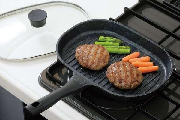 Выбор сковородки гриль для домашней кухни