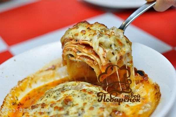 Рецепт лазаньи с фаршем и лавашом в домашних