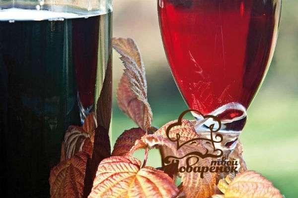 Вино из крыжовника и малины