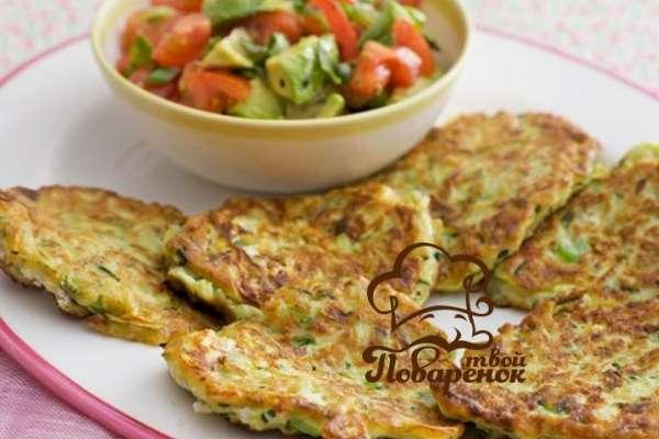 Как приготовить кабачковые оладушки по диете