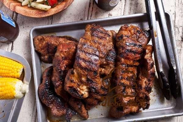 Рецепт домашних ребер гриль пожаренных на сковородке