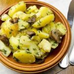 Картошка с шампиньонами в мультиварке