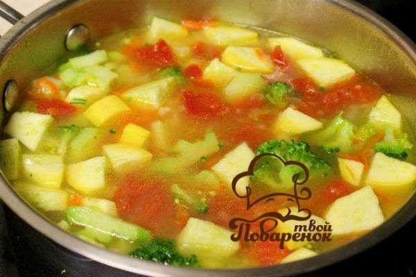 Куриный картофельный суп рецепт пошагово