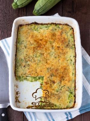 Как приготовить кабачковую запеканку с сыром