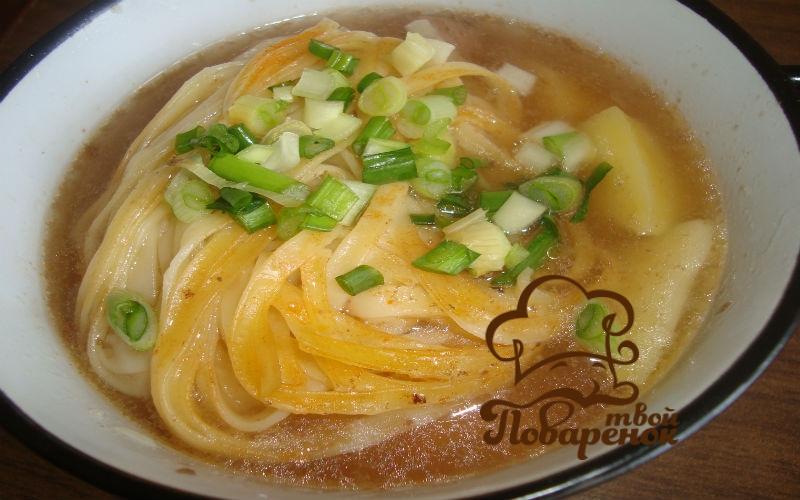 лагман суп из говядины пошаговый рецепт