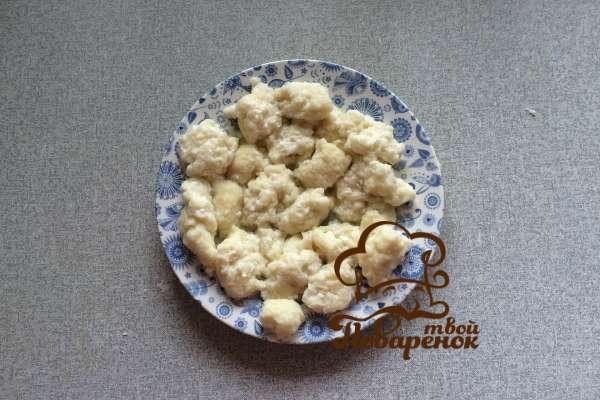 Ленивые вареники из творога, пошаговый рецепт