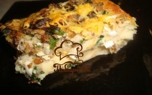 Открытый пирог с рыбной консервой рецепт с фото