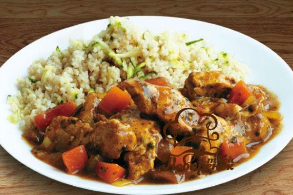 Как приготовить кабачки с рисом и курицей