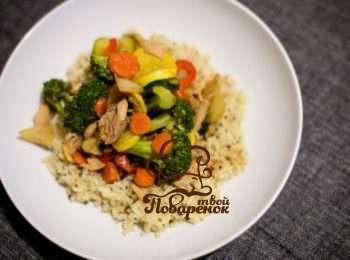 Рис с кабачками рецепт в мультиварке