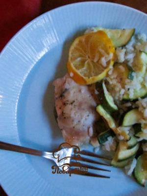 Курица с рисом и кабачками в мультиварке - домашний рецепт