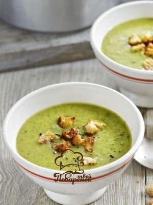 Диетический крем-суп из кабачков - домашний рецепт