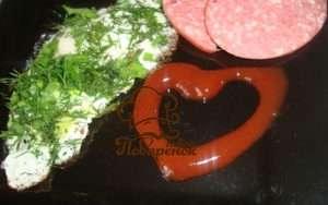 Яичница с зеленью