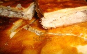 Французский пирог с рыбой в духовке рецепт с фото