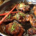 Курица по-тайски в кисло-сладком соусе