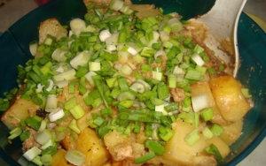 Магги на второе для сочной курицы запечённой с картошкой