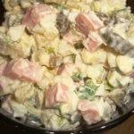 Новогодний салат оливье классический рецепт с фото