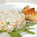 оливье с курицей калорийность блюда