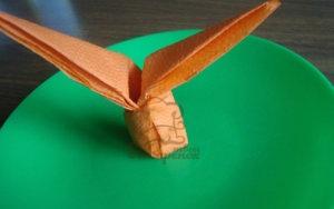 Пасхальный кролик из бумажных салфеток