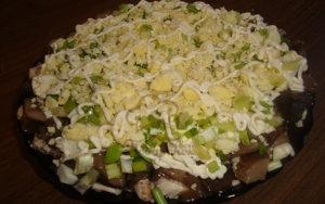 Салат грибная эра с курицей и грибами рецепт с фото