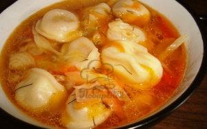 Суп с пельменями в мультиварке рецепт с фото