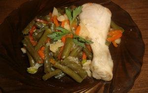 Тушёная курица с овощами рецепт с фото