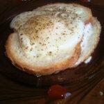 Яичница в хлебе со специями рецепт с фото