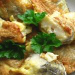 Жареный хек в кляре: рецепт с фото