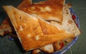 Пирожки из лаваша с капустой рецепт с фото