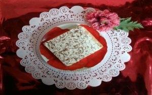 Воздушный бисквит с белковой глазурью рецепт с фото пошагово