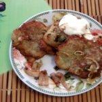 Картофельные колдуны с мясным фаршем по белорусски