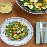 Салат с манго и курицей топ 3 лучших рецепта