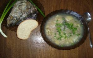 Уха из рыбьей головы классический рецепт с фото