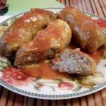 Вкусные голубцы с рисом и свининой классический рецепт