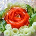 Как красиво порезать помидоры